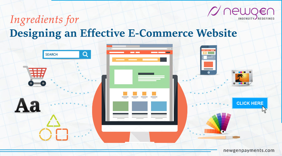 Ingredients for Designing an Effective E-Commerce Website